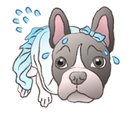 Emma Princess (French Bulldog) sticker #6806582