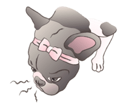 Emma Princess (French Bulldog) sticker #6806583