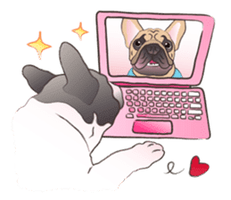 Emma Princess (French Bulldog) sticker #6806585