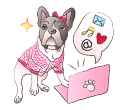Emma Princess (French Bulldog) sticker #6806586