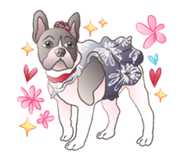Emma Princess (French Bulldog) sticker #6806589