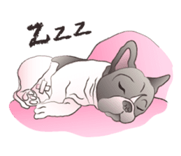 Emma Princess (French Bulldog) sticker #6806591