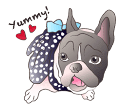 Emma Princess (French Bulldog) sticker #6806594