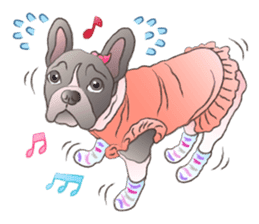 Emma Princess (French Bulldog) sticker #6806596