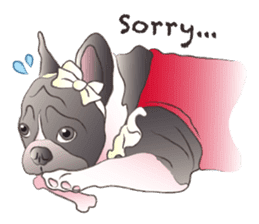 Emma Princess (French Bulldog) sticker #6806601