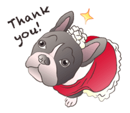 Emma Princess (French Bulldog) sticker #6806605