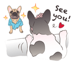 Emma Princess (French Bulldog) sticker #6806607