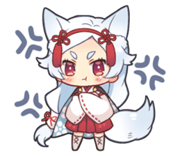 Nadeshiko Animals sticker #6807586