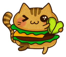 Yummy BurgerCat Vol.2 sticker #6809614