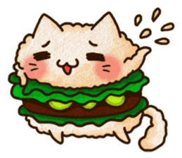 Yummy BurgerCat Vol.2 sticker #6809622