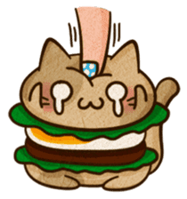 Yummy BurgerCat Vol.2 sticker #6809628