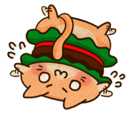 Yummy BurgerCat Vol.2 sticker #6809634