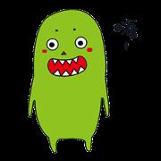 สติ๊กเกอร์ไลน์ Monster Katz