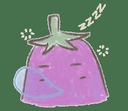 purple eggplant TH sticker #6819610