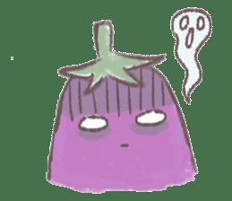 purple eggplant TH sticker #6819618