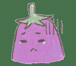purple eggplant TH sticker #6819620