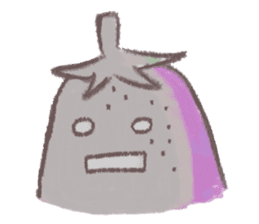purple eggplant TH sticker #6819637