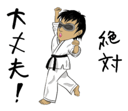Masked Karate sticker #6828269