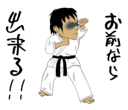 Masked Karate sticker #6828272