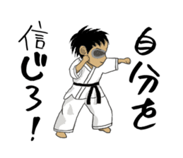 Masked Karate sticker #6828276