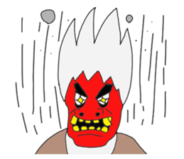 Namahage Mr. came sticker #6829973