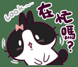 BossTwo-Cute Rabbit Poni sticker #6832705