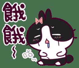 BossTwo-Cute Rabbit Poni sticker #6832708