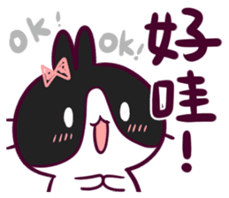 BossTwo-Cute Rabbit Poni sticker #6832720