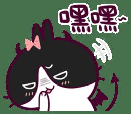 BossTwo-Cute Rabbit Poni sticker #6832726