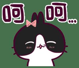 BossTwo-Cute Rabbit Poni sticker #6832727