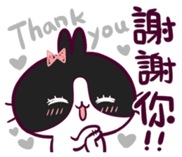 BossTwo-Cute Rabbit Poni sticker #6832729
