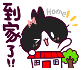 BossTwo-Cute Rabbit Poni sticker #6832738