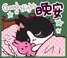 BossTwo-Cute Rabbit Poni sticker #6832739