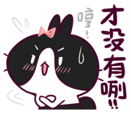 BossTwo-Cute Rabbit Poni sticker #6832742