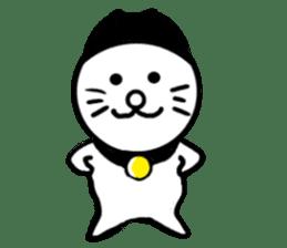 Cat of Knit hat sticker #6834032
