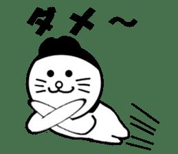Cat of Knit hat sticker #6834070