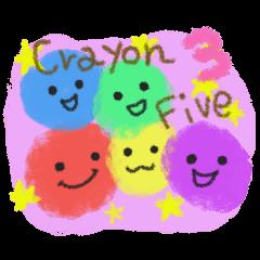 Crayon Five 3
