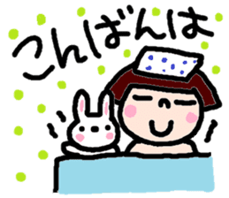 Japanese girl coto-chan vo.14 sticker #6839994
