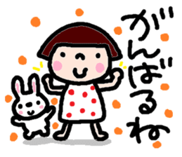 Japanese girl coto-chan vo.14 sticker #6839996
