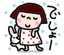 Japanese girl coto-chan vo.14 sticker #6840003