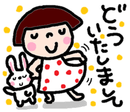 Japanese girl coto-chan vo.14 sticker #6840007