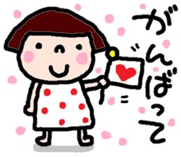 Japanese girl coto-chan vo.14 sticker #6840010