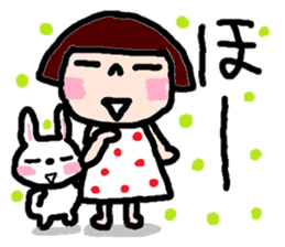 Japanese girl coto-chan vo.14 sticker #6840015