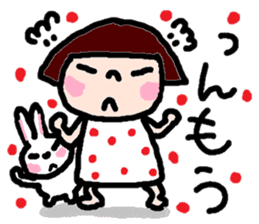 Japanese girl coto-chan vo.14 sticker #6840020