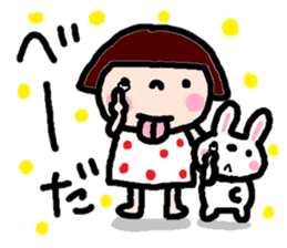 Japanese girl coto-chan vo.14 sticker #6840023