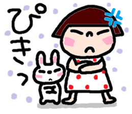Japanese girl coto-chan vo.14 sticker #6840024