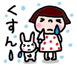 Japanese girl coto-chan vo.14 sticker #6840026