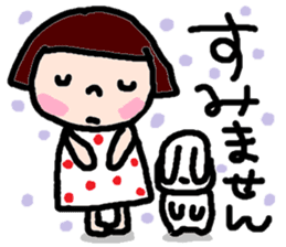 Japanese girl coto-chan vo.14 sticker #6840027