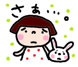 Japanese girl coto-chan vo.14 sticker #6840029
