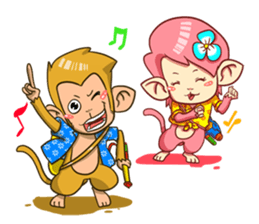 Khantong and Chaba sticker #6840921